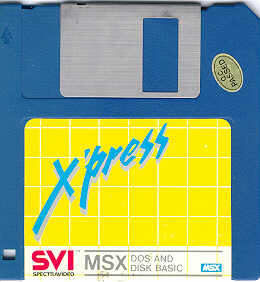 [X´press SVI MSX-DOS AND DISK BASIC]